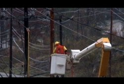 Hurricane Sandy Recovery Effort: Race to Get Power Back On As Temps Drop