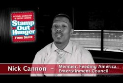 Stamp Out Hunger Nick Cannon PSA
